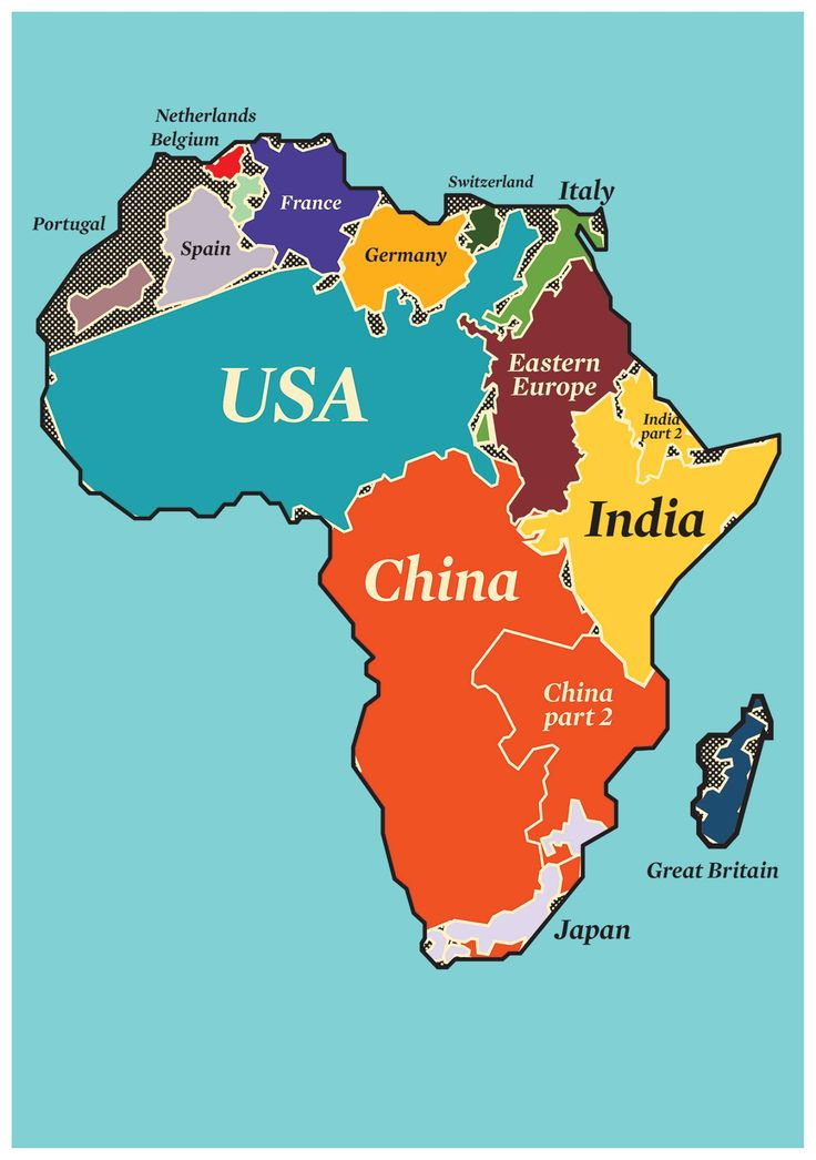 Africa Map Comparison.Good Tech Insights Africa 1 European Founder Society